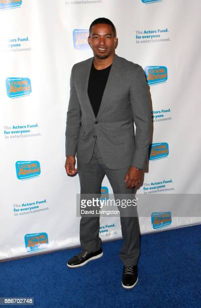 Actor Laz Alonso attends The Actors Fund's 2017 Looking Ahead Awards honoring the youth cast of NBC's 'This Is Us' at Taglyan Complex on December 5...