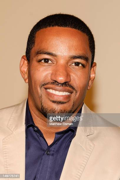 Actor Laz Alonso attends the American Airlines and BlackAtlascom launch party at The Studio Musuem on August 3 2012 in New York City