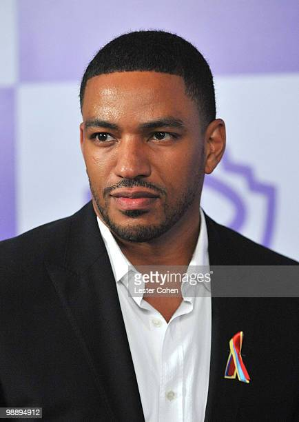 Actor Laz Alonso attends the InStyle and Warner Bros 67th Annual Golden Globes post party held at the Oasis Courtyard at The Beverly Hilton Hotel on...