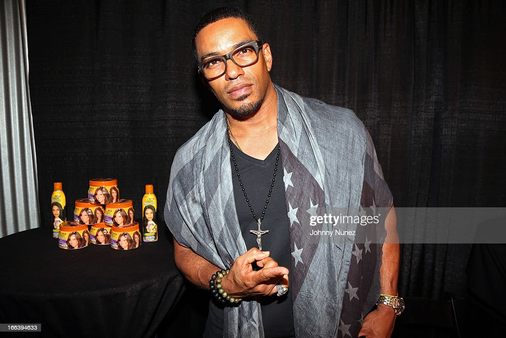 Actor Laz Alonso hosts the relaunch of MegaGrowth at 'The Mane Event' at King Plow Arts Center on April 11, 2013, in Atlanta, Georgia.