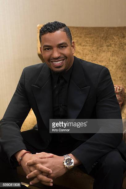 Actor Laz Alonso poses for a portrait during the US Dream Academy 15th Annual 'Power Of A Dream Gala' at The Renaissance Hotel on May 3 2016 in...