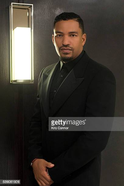 Actor Laz Alonso poses for a portrait during the US Dream Academy 15th Annual Power Of A Dream Gala at The Renaissance Hotel on May 3 2016 in...