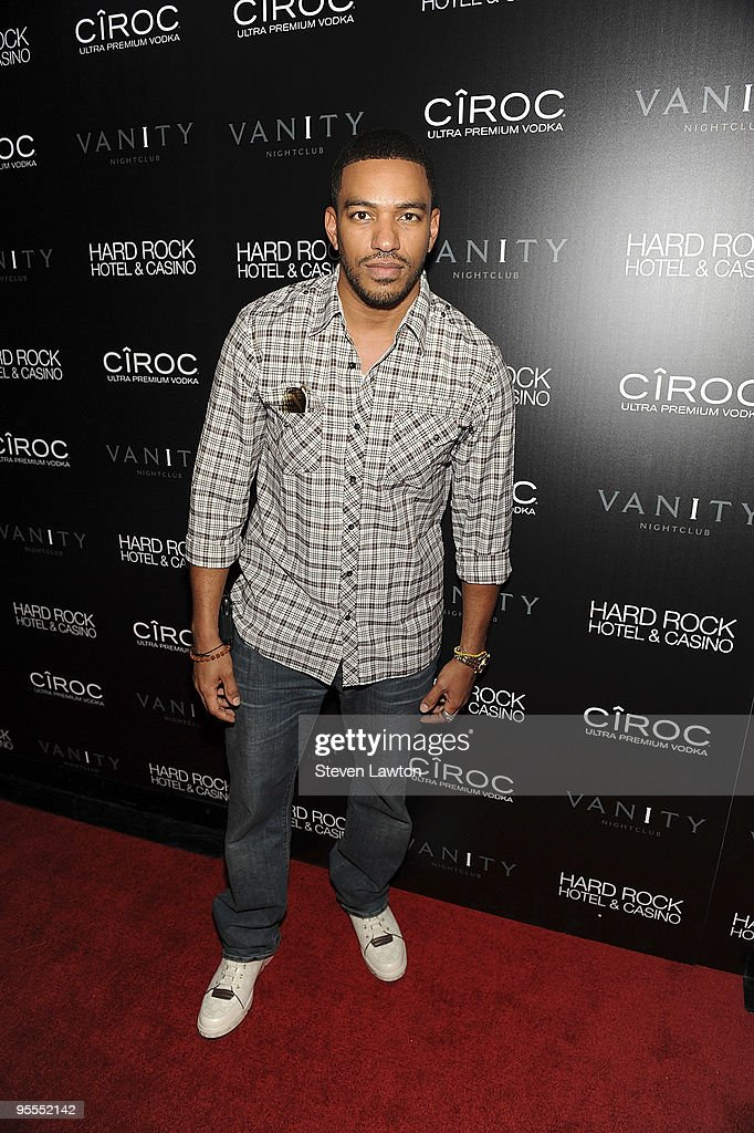 Actor Laz Alonso star of 'Avatar' the movie attends the grand opening of the Vanity nightclub hosted by Sean Diddy Combs at the Hard Rock Hotel and Casino on January 2, 2010 in Las Vegas, Nevada.