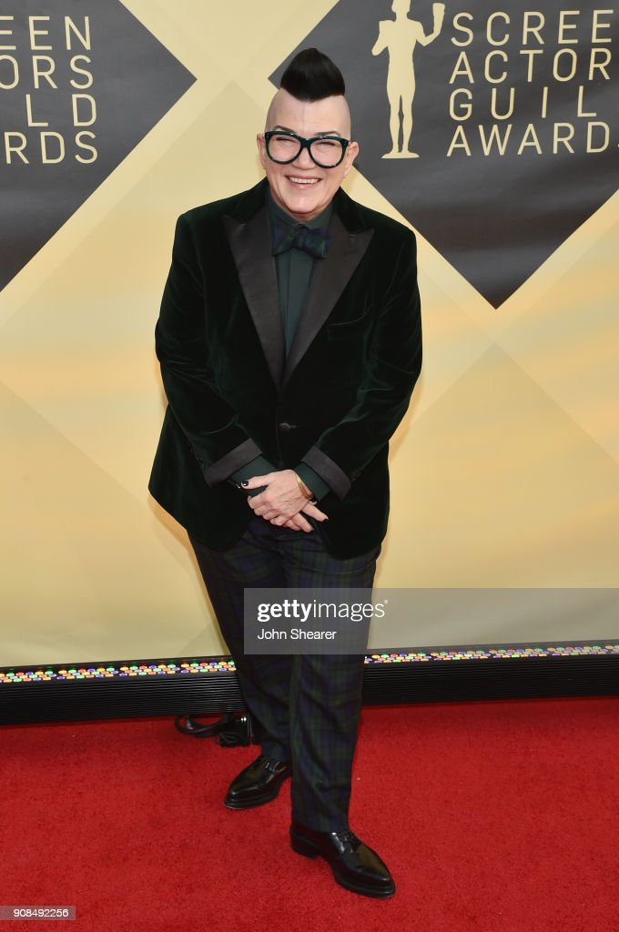 Actor Lea DeLaria attends the 24th Annual Screen Actors Guild Awards at The Shrine Auditorium on January 21, 2018 in Los Angeles, California.