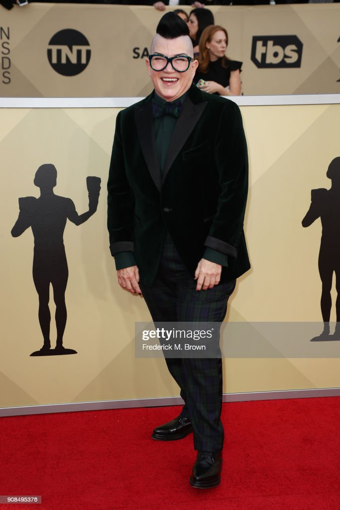 Actor Lea DeLaria attends the 24th Annual Screen Actors Guild Awards at The Shrine Auditorium on January 21, 2018 in Los Angeles, California. 27522_017