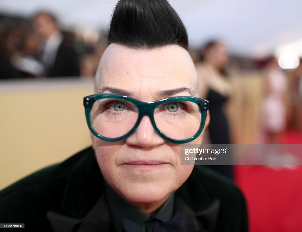 Actor Lea DeLaria attends the 24th Annual Screen Actors Guild Awards at The Shrine Auditorium on January 21, 2018 in Los Angeles, California. 27522_010