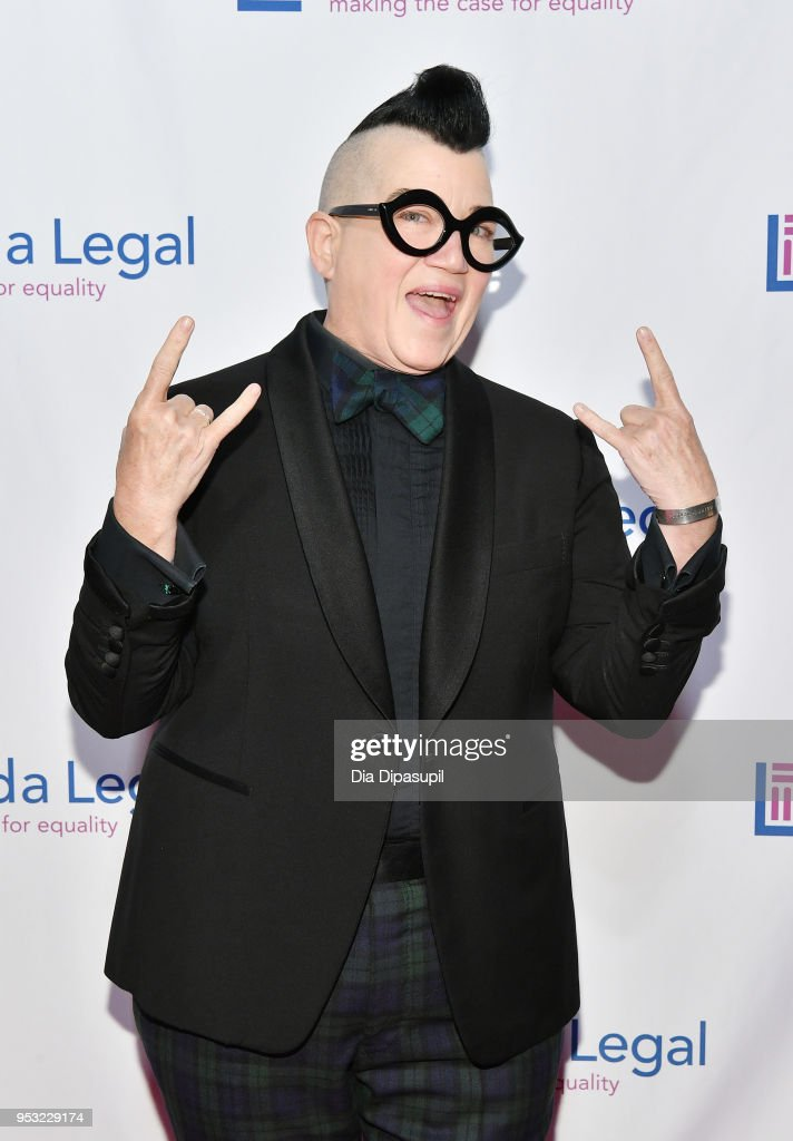 Actor Lea DeLaria attends the Lambda Legal 2018 National Liberty Awards at Pier 60 on April 30, 2018 in New York City.