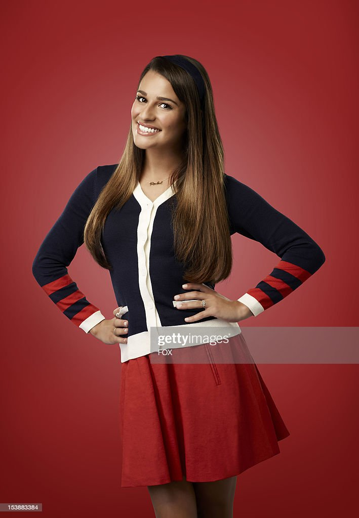 Actor Lea Michele as 'Rachel' on Season Four of GLEE airing on Thursdays (9:00-10:00 PM ET/PT) on FOX.