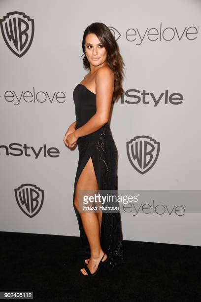 Actor Lea Michele attends the 19th Annual PostGolden Globes Party hosted by Warner Bros Pictures and InStyle at The Beverly Hilton Hotel on January 7...