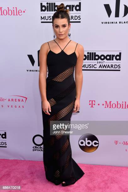 Actor Lea Michele attends the 2017 Billboard Music Awards at TMobile Arena on May 21 2017 in Las Vegas Nevada