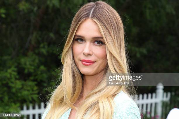 Actor Leah Renee visits Hallmark's Home Family at Universal Studios Hollywood on May 15 2019 in Universal City California