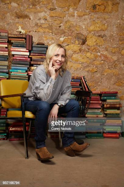 Actor Lecy Goranson from the show 'Roseanne' poses for a portrait in the Getty Images Portrait Studio Powered by Pizza Hut at the 2018 SXSW Film...