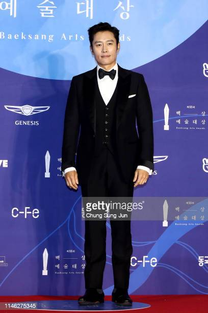 Actor Lee ByungHun attends the 55th Baeksang Arts Awards at COEX D Hall on May 01 2019 in Seoul South Korea