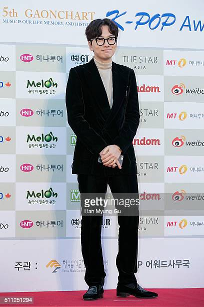Actor Lee Dong-Hwi attends the 5th Gaon Chart K-Pop Awards on February 17, 2016 in Seoul, South Korea.