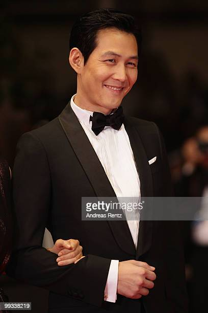 Actor Lee Jungjae attends 'The Housemaid' Premiere at the Palais des Festivals during the 63rd Annual Cannes Film Festival on May 14 2010 in Cannes...