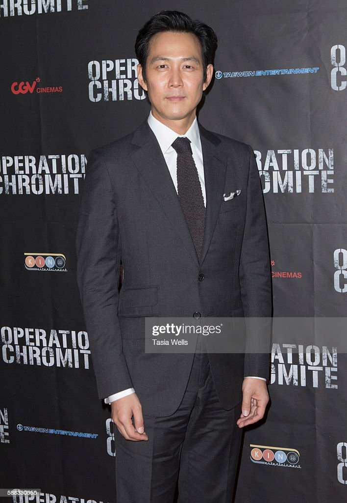 "Screening Of CJ Entertainment's ""Operation Chromite"" - Arrivals"