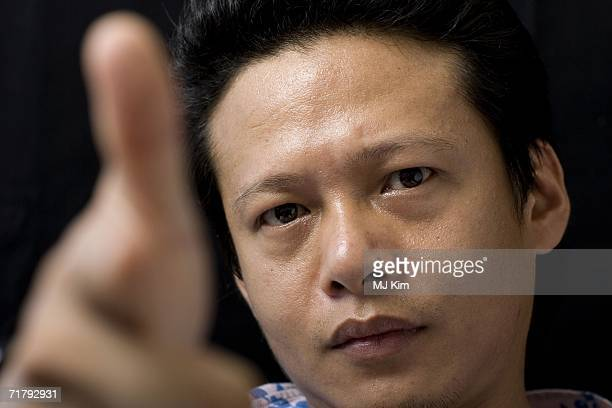 Actor Lee KangSheng attends a photo session to promote the film 'Dont Want To Sleep Alone' during the seventh day of the 63rd Venice Film Festival on...