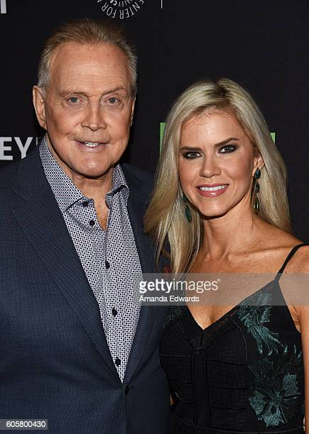 Actor Lee Majors and actress Faith Majors arrive at The Paley Center for Media's PaleyFest 2016 Fall TV Preview for STARZ at The Paley Center for...