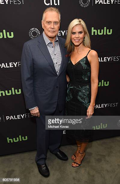 Actor Lee Majors and Faith Majors arrive at The Paley Center for Media's 10th Annual PaleyFest Fall TV Previews honoring STARZ's Ash vs Evil Dead at...