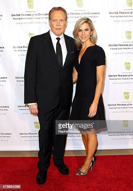 Actor Lee Majors and Faith Majors attend United Friends Of The Children Brass Ring Awards Dinner honoring Roy Price and Ande Rosenblum at The Beverly...