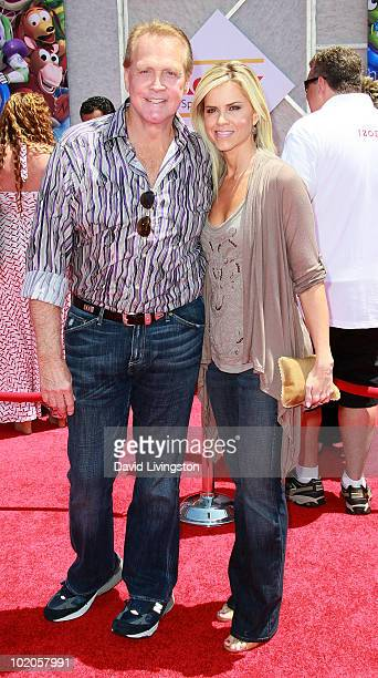 Actor Lee Majors and wife Faith Majors attend the Los Angeles premiere of Toy Story 3 at the El Capitan Theatre on June 13 2010 in Hollywood...