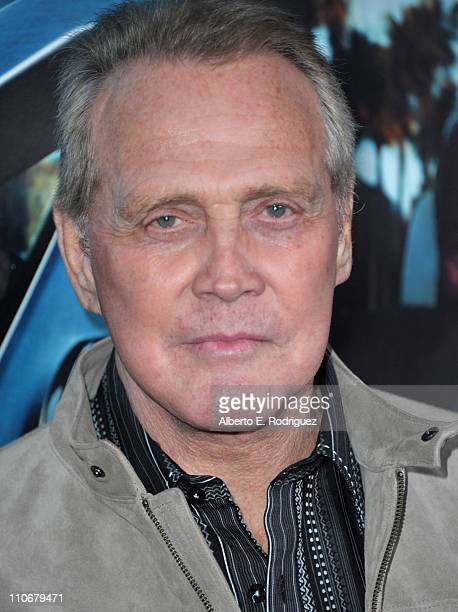 """Actor Lee Majors arrives to the premiere of the HBO documentary """"His Way"""" on March 22, 2011 in Hollywood, California."""