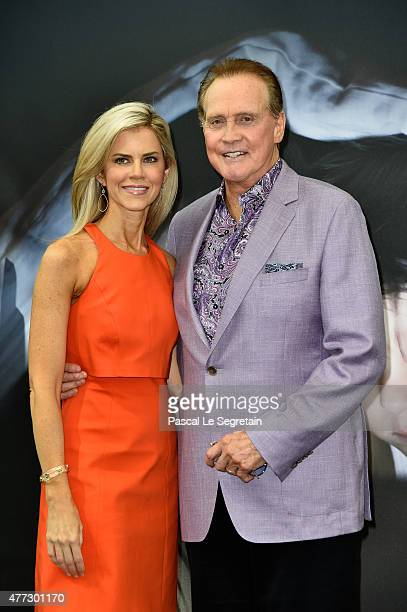 Actor Lee Majors from the TV series 'The Six Million Dollar Man' and wife Faith Majors attend the 55th Monte Carlo TV Festival Day 4 on June 16 2015...
