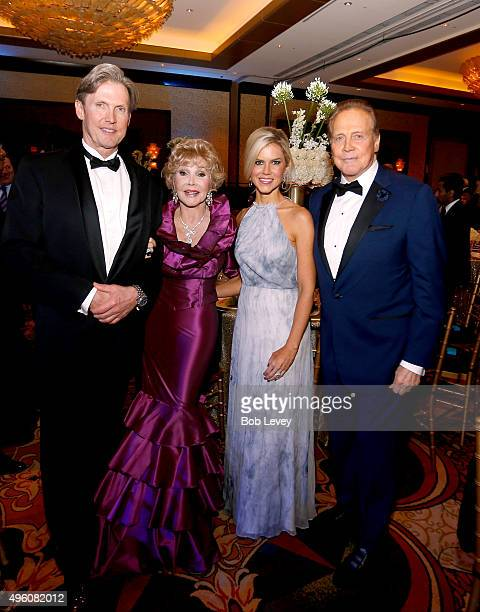 Actor Lee Majors wife Faith Majors Joanne King Herring and Robert King attend the UNICEF Audrey Hepburn Society Ball honoring former first lady...