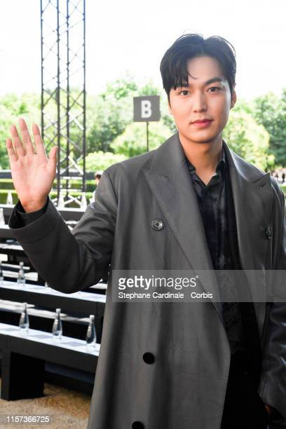 Actor Lee Min Ho attends the Berluti Menswear Spring Summer 2020 show as part of Paris Fashion Week on June 21 2019 in Paris France
