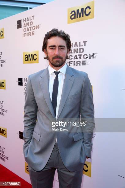 Actor Lee Pace attends AMC's new series 'Halt And Catch Fire' Los Angeles Premiere at ArcLight Cinemas on May 21 2014 in Hollywood California