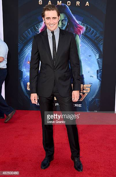 Actor Lee Pace attends Marvel's Guardians Of The Galaxy Los Angeles Premiere at the Dolby Theatre on July 21 2014 in Hollywood California