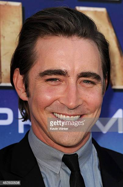 Actor Lee Pace attends the premiere of Marvel's 'Guardians Of The Galaxy' at the Dolby Theatre on July 21 2014 in Hollywood California