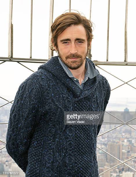 Actor Lee Pace promoting his upcoming film 'Ceremony' visits The Empire State Building on April 6 2011 in New York City