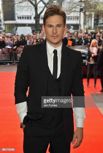 Actor Lee Ryan attends 'The Heavy' film premiere at the Odeon West End on April 15 2010 in London England