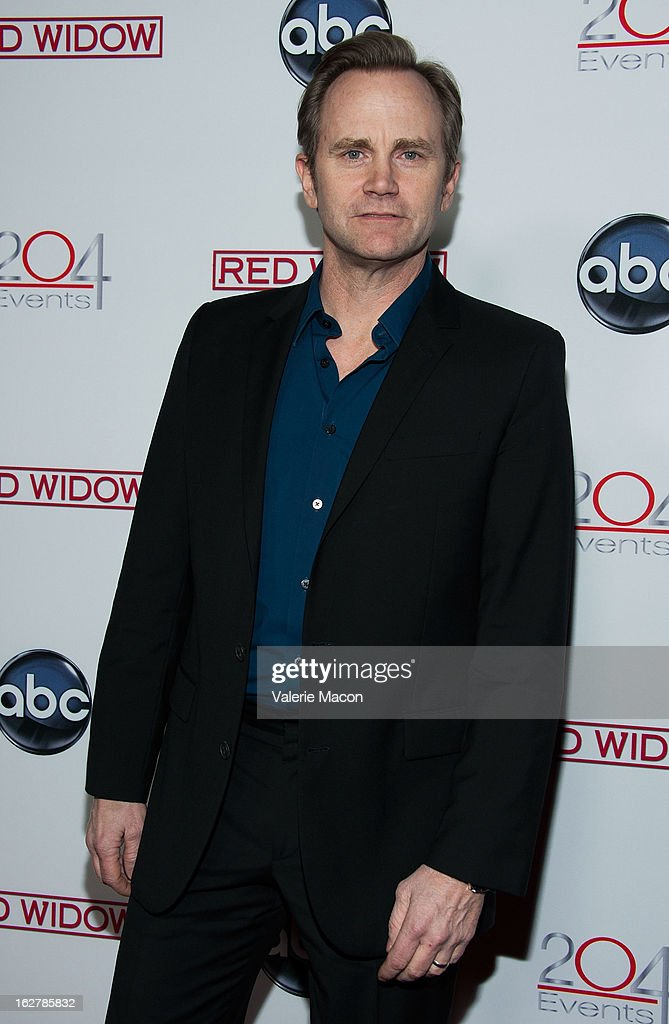 Actor Lee Tergesen attends ABC's 'Red Widow' Red Carpet Event at Romanov Restaurant Lounge on February 26, 2013 in Studio City, California.