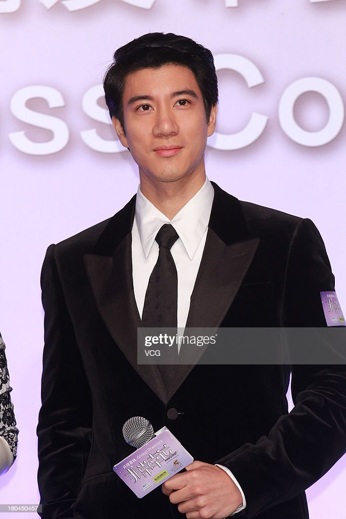 Actor Leehom Wang attends 'My Lucky Star' press conference at the Venetian Macao on September 12, 2013 in Macau, Macau.