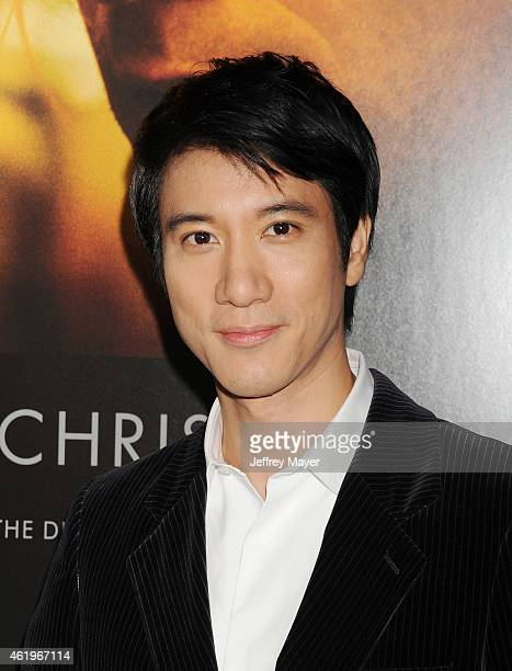 Actor Leehom Wang attends the 'Black Hat' Los Angeles premiere held at the TCL Chinese Theatre IMAX on January 8 2015 in Hollywood California