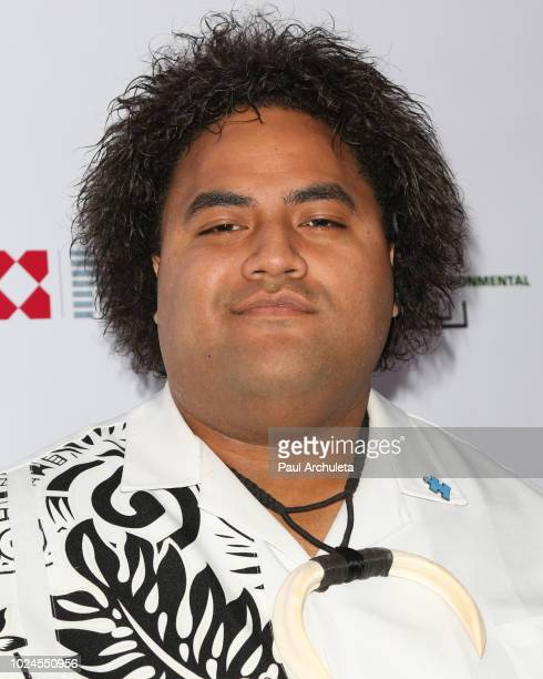 Actor Lehi Falepapalangi attends 'Autism Speaks' celebrity poker tournament at the Hudson Loft on August 18 2018 in Los Angeles California