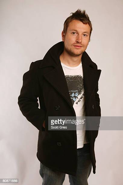 Actor Leigh Whannell of the film Dying Breed poses for a portrait at the Amex Insider's Center during the 2008 Tribeca Film Festival on April 26 2008...