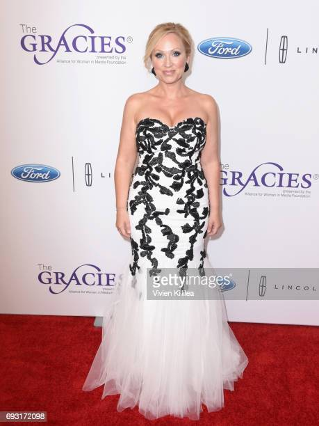 Actor LeighAllyn Baker attends the 42nd Annual Gracie Awards Gala hosted by The Alliance for Women in Media at the Beverly Wilshire Hotel on June 6...