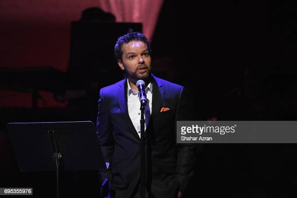 Actor Lemon Anderson speaks during Apollo Spring Gala 2017 at The Apollo Theater on June 12 2017 in New York City