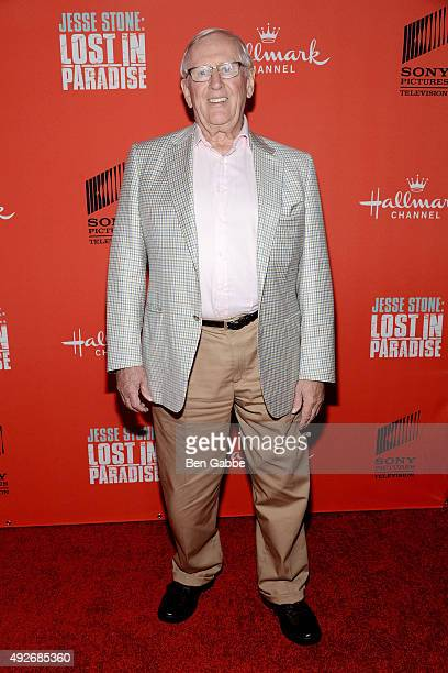 """Actor Len Cariou attends the """"Jess Stone: Lost In Paradise"""" New York Premiere at Roxy Hotel on October 14, 2015 in New York City."""
