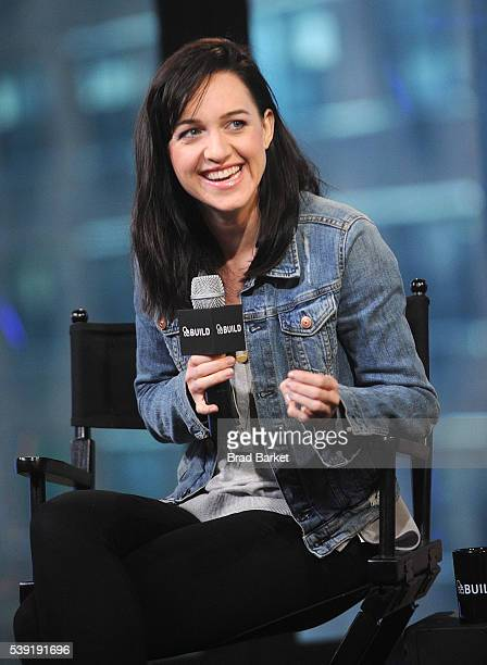 Actor Lena Hall attends AOL Build Speaker Series Lena Hall 'Sin Salvation Live At the Carlyle' at AOL Studios In New York on June 10 2016 in New York...