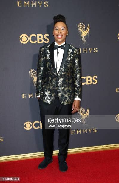 Actor Lena Waithe attends the 69th Annual Primetime Emmy Awards Arrivals at Microsoft Theater on September 17 2017 in Los Angeles California