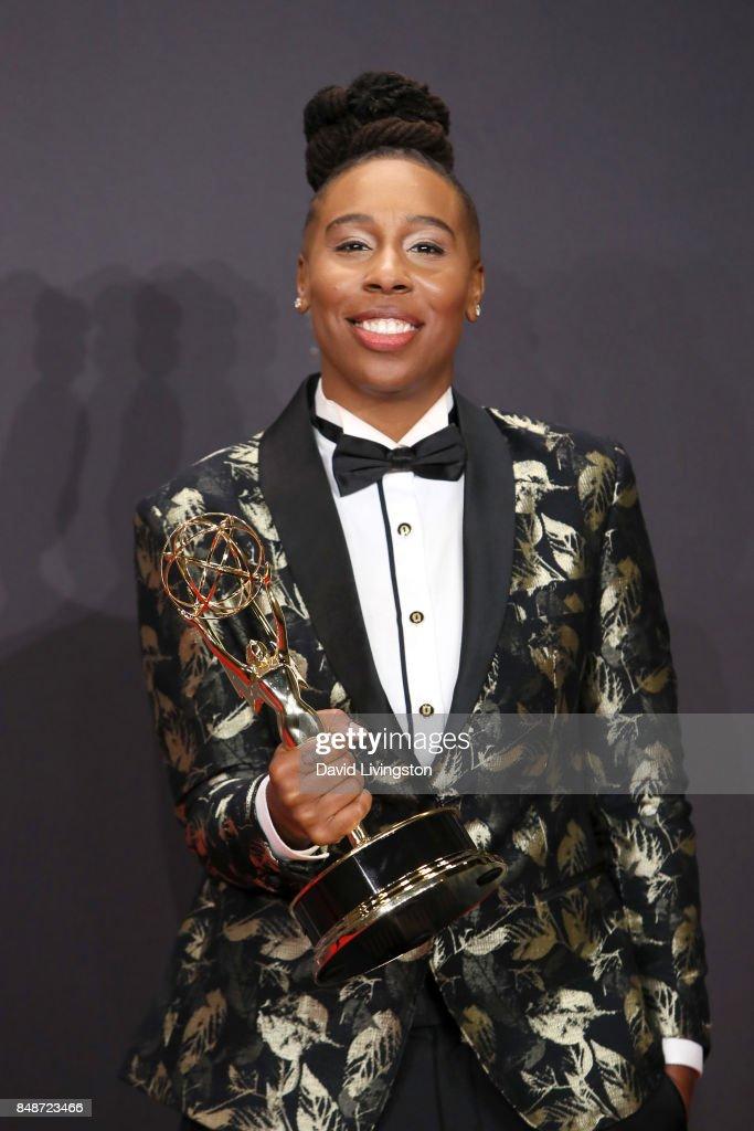 69th Annual Primetime Emmy Awards - Press Room : Foto jornalística