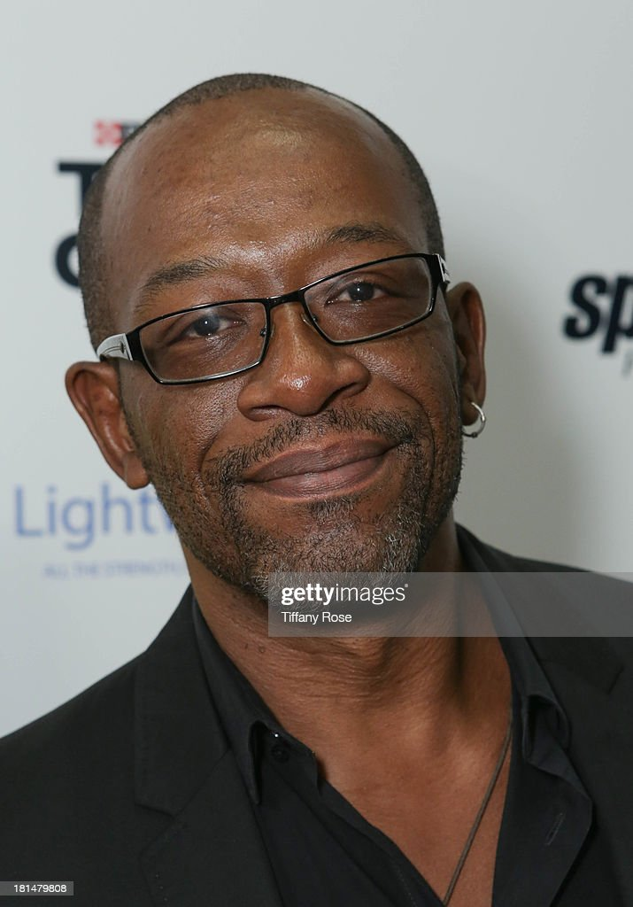 Actor Lennie James attends the GBK Productions Luxury Lounge during Emmy's Weekend on September 21, 2013 in Hollywood, California.