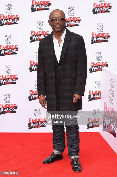 Actor Lennie James attends the THREE Empire awards at The Roundhouse on March 19 2017 in London England