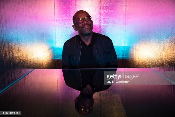 Actor Lennie James of 'Fear the Walking Dead' is photographed for Los Angeles Times at Comic-Con International on July 19, 2019 in San Diego,...
