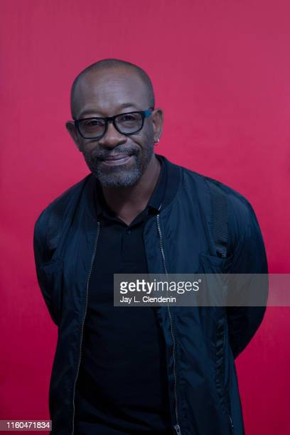 Actor Lennie James of 'Fear The Walking Dead' is photographed for Los Angeles Times at Comic-Con International on July 18, 2019 in San Diego,...