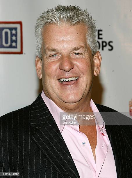 Actor Lenny Clarke attends A Salute To Our troops ceremony hosted by Microsoft Corporation and the United Service Organizations at The Rainbow Room...